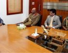 RFMF Top Brass Meet Sri Lankan Official