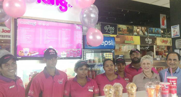 Donut King Officially Opens At TappooCity Suva