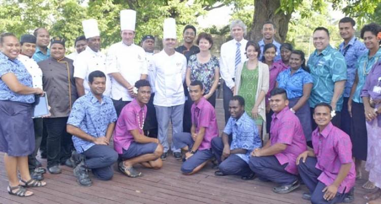 Tahiti Lecturers Upskill FNU In Cooking Art