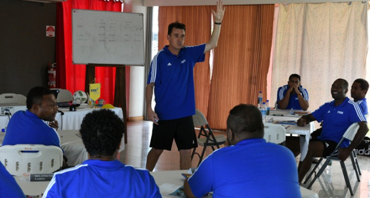 FIFA Instructor Here To Develop Futsal
