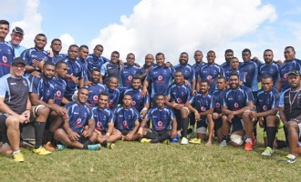 Flying Fijians Arrive In Belfast & John Mckee Names Team To Face Barbarians