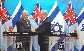 Fiji Seeks Stronger Ties With Israel