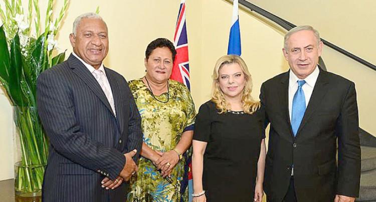 PM Invites  Netanyahu To Visit Fiji
