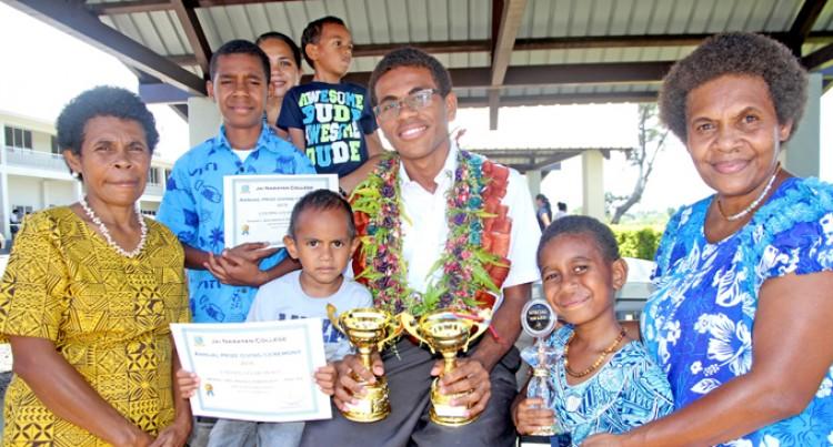 Ratu Manoa Proud Of His Studies, Achievements