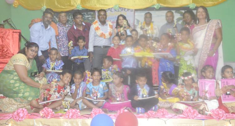 28 Children Graduate At Kamal Kishori Kindergarten