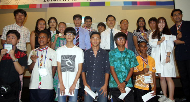 Singh Wins Korean Language Competition