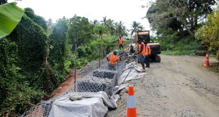 Labasa Government  Station Road  Upgraded