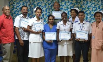 Labasa Hospital Recognises Staff