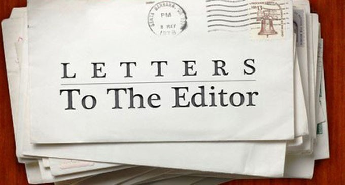 Letters To The Editor, 29th November, 2016