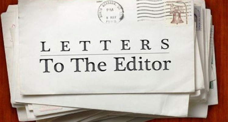 Letters To The Editor, 12th November 2016