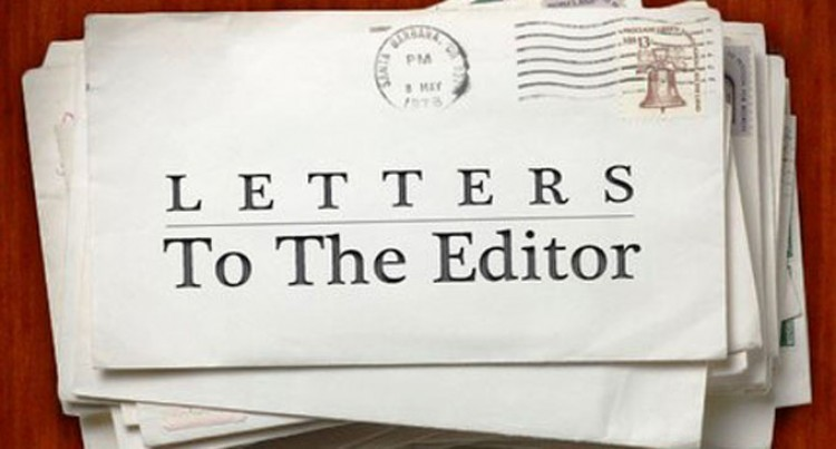 Letters To The Editor 12th June, 2018