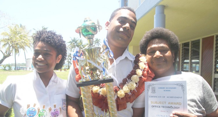 George First in Family To Scoop Dux
