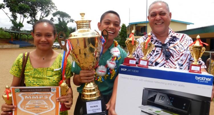 Dux Award Surprises Proud Father