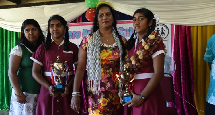 Award Winning Students Credit Parents, Teachers