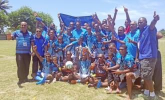 Police Defend Soccer Title