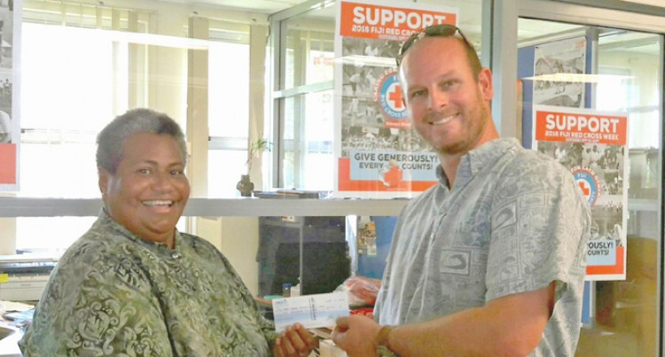 Musket Cove Guests, Owners Help Boost Fiji Red Cross