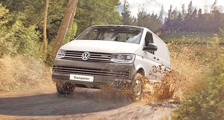 Volkswagen Transporter Here From Palas