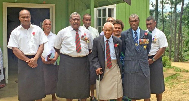 Wailoku Honours Former Soldiers
