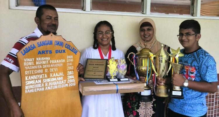 Arts Dux Faheemah Makes Parents Cry With Joy