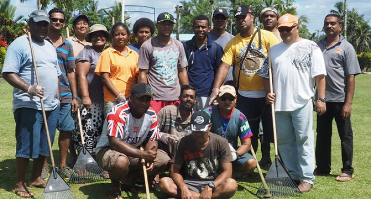 Fiji Meat Board Staff Clean St Christopher's Home