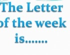 Letter Of The Week