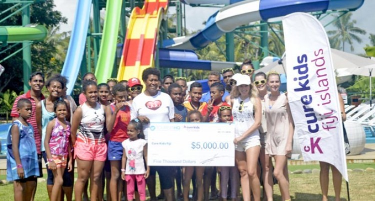 Tourists Give To Cure Kids Fiji