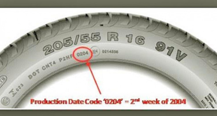 How To Check Tyres For Expiry Dates To Avoid Problem