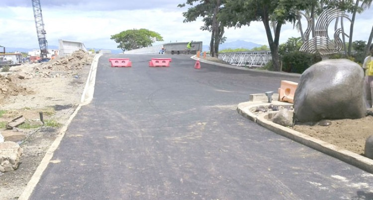 Final Touches To Denarau Bridge Underway