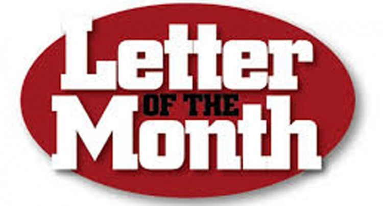 Letter Of The Month