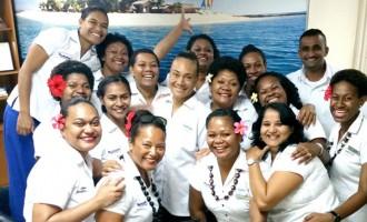 Special Treat For Fijiana XVs Skipper