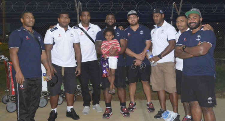 Flying Fijians Arrive Home Without McKee