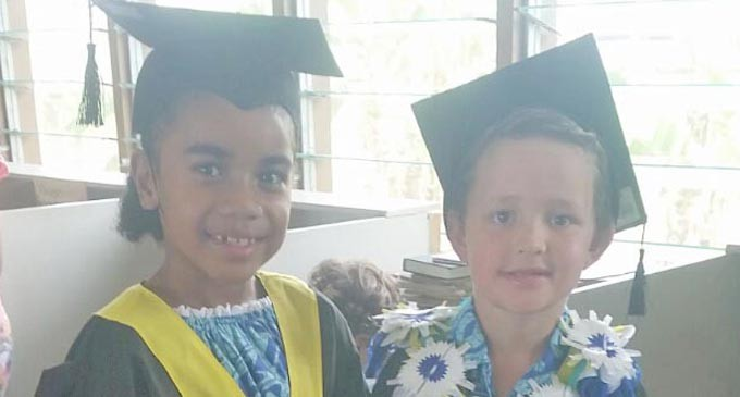 35 Tots Graduate From Kindy