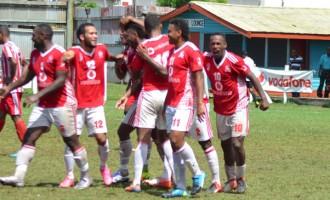 Nine-Man Rewa Team Win Up North