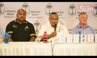 Launch Of Fiji Rugby Awards
