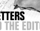Letters To The Editor 6th December 2016