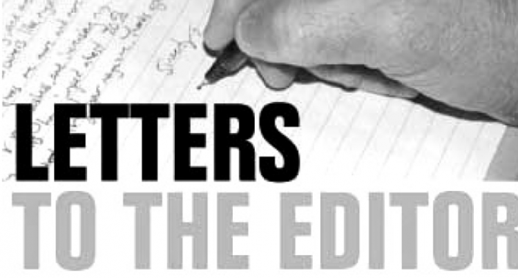 Letters To The Editor, 1st, December, 2016