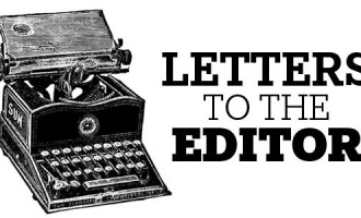 Letters To The Editor, 8th August 2017.