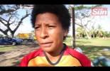 PNG Captain , Margaret Naua