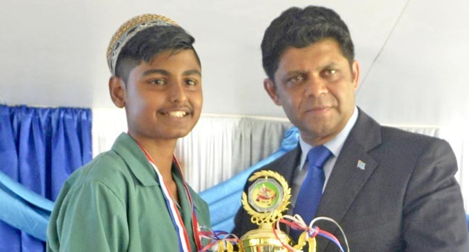 Dux Zakariya Says He Will Miss Primary Years
