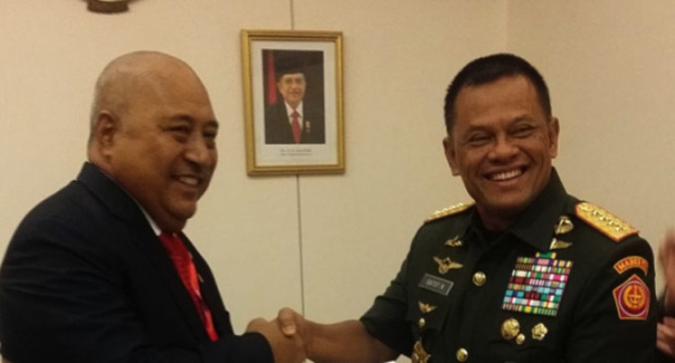 Minister For Defence Acknowledges Indonesian Military For QVS Assistance
