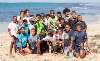 Young Surfers Head To Namotu Pools