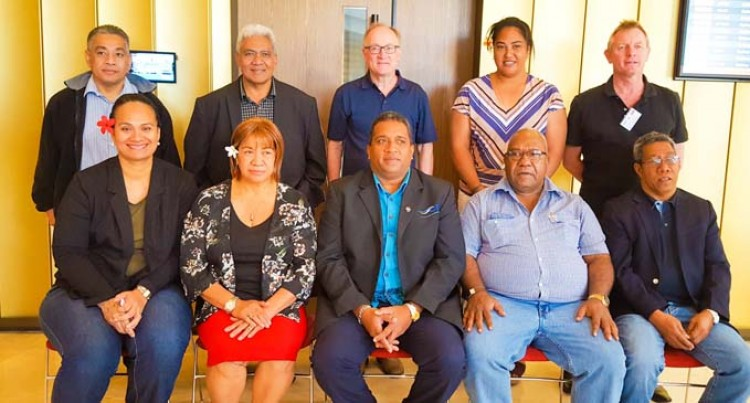 Ravai Re-Elected As Pacific Water And Waste Water Association Chair