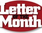 Letters Of The Month