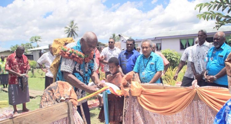 Three Naitasiri Villages Benefit from Rural Water Project