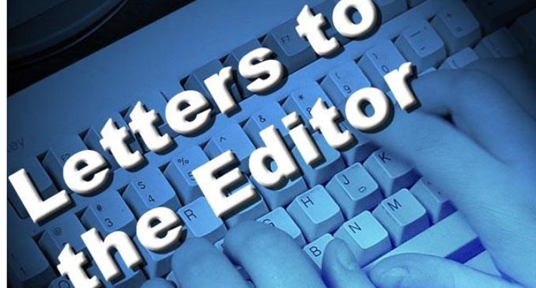 Letters To The Editor, 02 December 2016