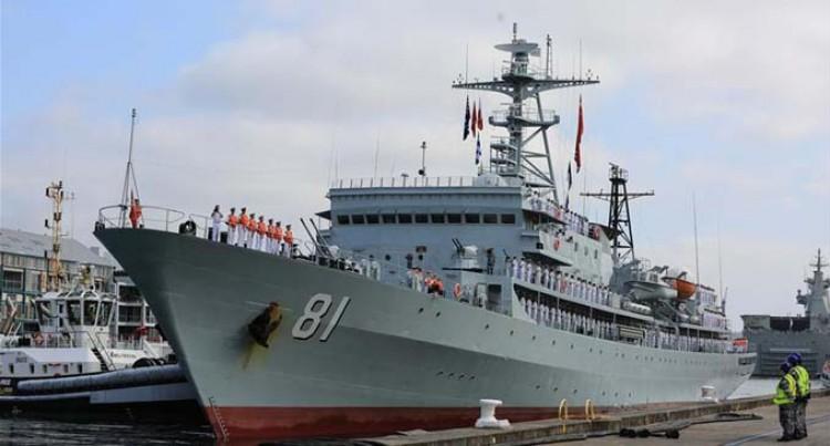 Chinese Training Ship Zheng He To Stop In Fiji