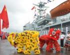 Training Ship Zheng He Arrives In Suva