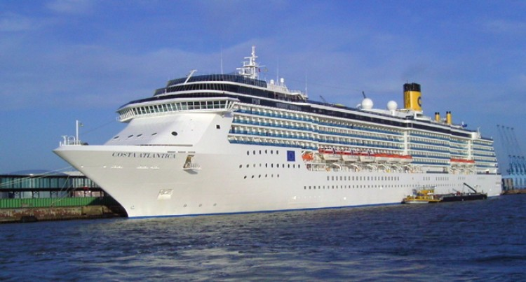 COSTA ATLANTICA In Suva Today