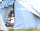 Tent Dwellers Seek  Safety In Other Homes