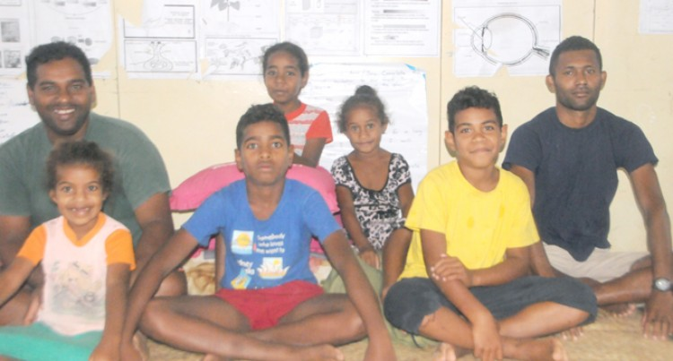 Family Go From Tents To Evac  Centre